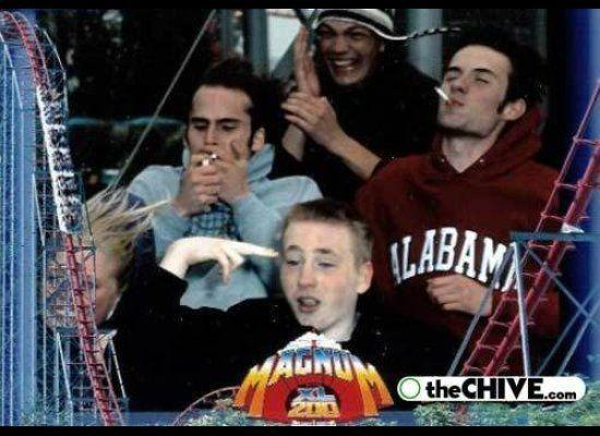 "As far as we know, there are no smoking bans *above* theme parks. (via <a href=""http://thechive.com"" target=""_hplink"">The Chive</a>)"