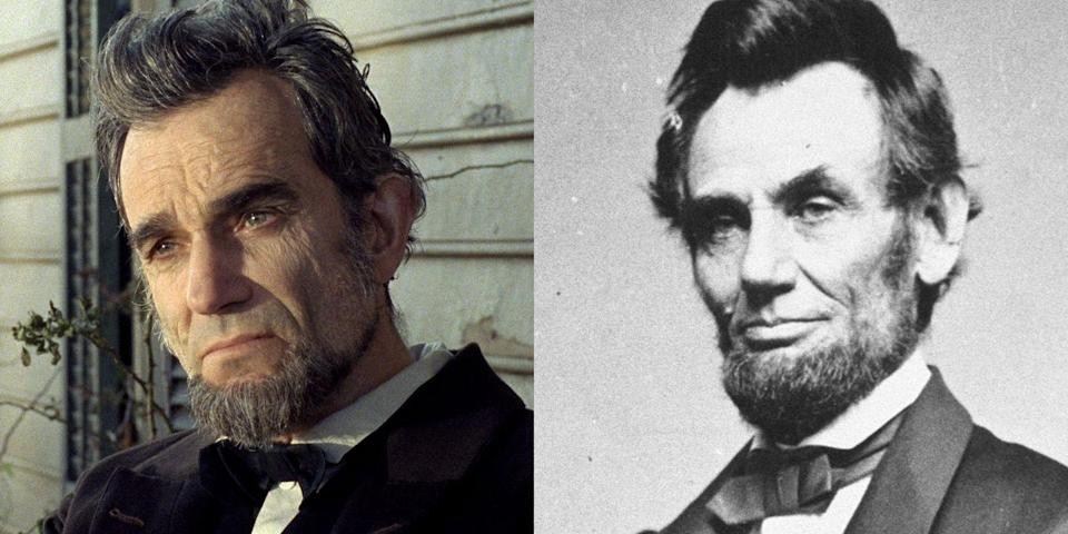 <p>We're really not sure if Abraham Lincoln was actually raised from the dead for this film. In any case, the credits state that Daniel Day Lewis doubles as the former president in the 2012 drama <em>Lincoln</em>. </p>