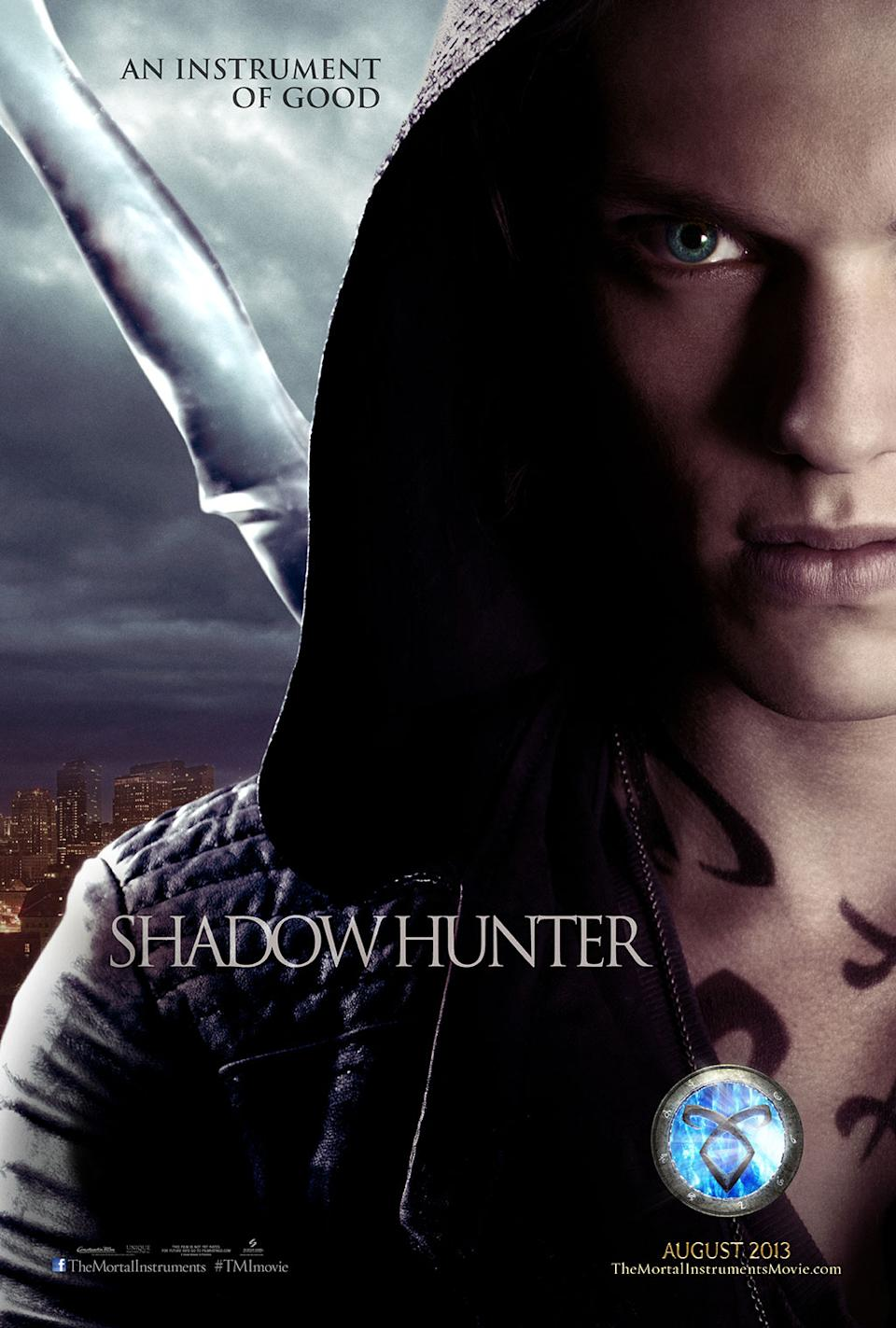 """Jamie Campbell Bower as Jace Wayland in Screen Gems' """"The Mortal Instruments: City of Bones"""" - 2013<br><br> <a href=""""http://l.yimg.com/os/251/2013/03/31/TMI-SPECIAL-ONLINE-VERSION-V4-JAMIE-jpg_000013.jpg"""" rel=""""nofollow noopener"""" target=""""_blank"""" data-ylk=""""slk:View full size >>"""" class=""""link rapid-noclick-resp"""">View full size >></a>"""