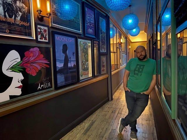 Brian Mendelssohn, owner of the boutique Row House Cinema in Pittsburgh, recently decided to require proof of vaccination in order to go ahead with his movie theater's reopening after more than a year in the dark amid the pandemic.