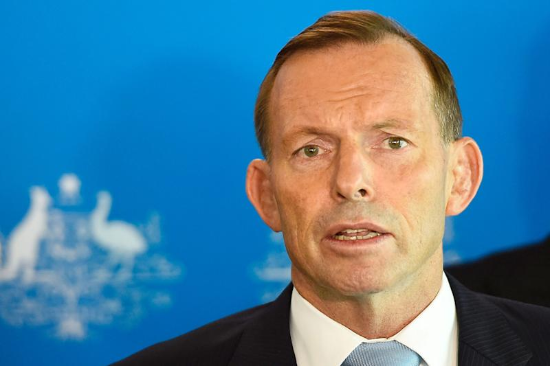 Former Australian Prime Minister Tony Abbott claimed he was assaulted in the street: Ian Hitchcock/Getty Images