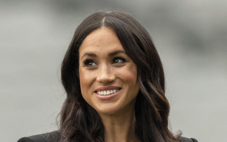 SEPTEMBER 16th 2020: Meghan Markle and other high profile celebrities are boycotting Instagram in protest against parent company Facebook's handling of misinformation and hate. - File Photo by: zz/KGC-178/STAR MAX/IPx 2018 7/11/18 Meghan The Duchess of Sussex visits Croke Park - the home of Ireland's largest sporting organization - the Gaelic Athletic Association. (Dublin, Ireland)