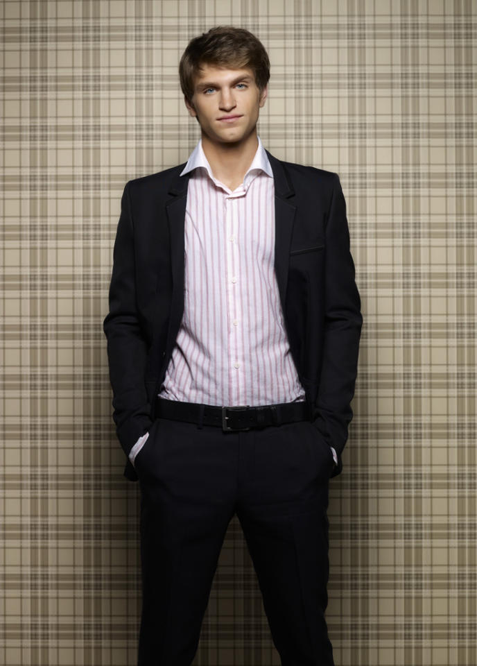 "Keegan Allen stars as Toby Cavanaugh on ABC Family's ""Pretty Little Liars."""