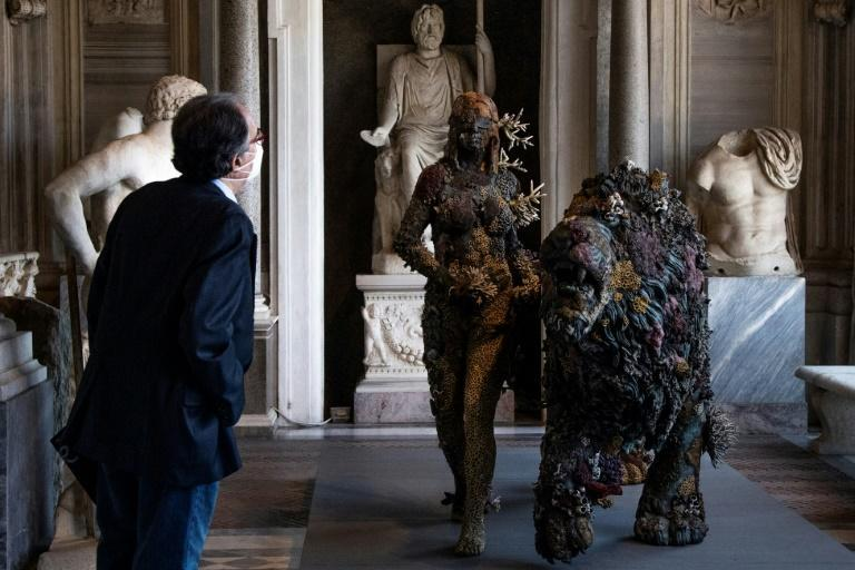 Hirst said in an interview that 'I love things that are falling apart, that are corrupted'