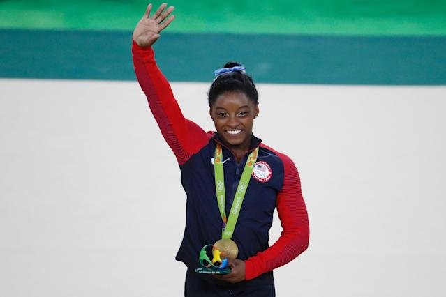 """I'm not the next Usain Bolt or Michael Phelps. I'm the first Simone Biles,"" the newly minted individual gold medalist stated Thursday."