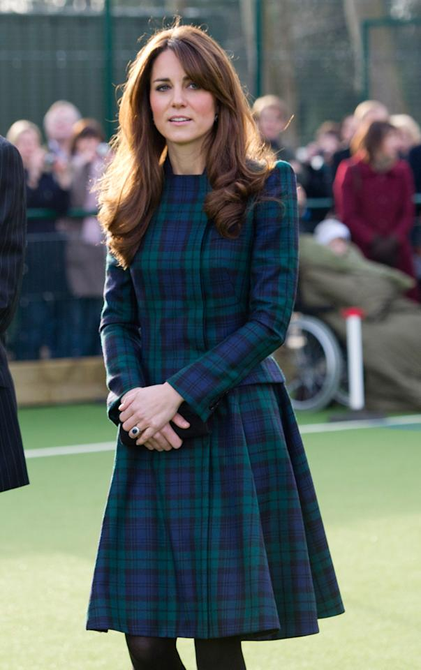 """<div class=""""caption-credit""""> Photo by: Arthur Edwards - WPA Pool/Getty Images</div><div class=""""caption-title""""></div>Kate Middleton has her work cut out for her. As the world's fashion ambassador, she'll have to negotiate trend-setting with palace propriety. Royal expert and author, Charles Jacoby, predicts her <a href=""""http://yhoo.it/VgOpHa"""" target="""""""">maternity</a> look will be, above all, understated. """"It's going to be demure,"""" Jacoby tells Shine. """"There is a major enquiry into press standards at the moment so it could be borderline Edwardian."""" <br>"""