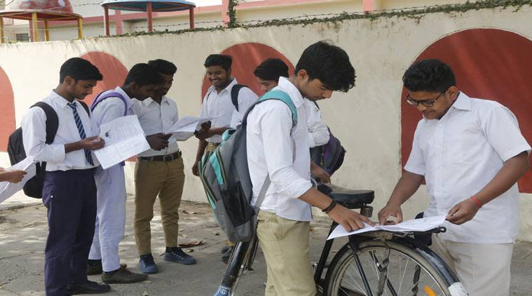 While students had social studies exam, they were handed over Punjabi question papers.