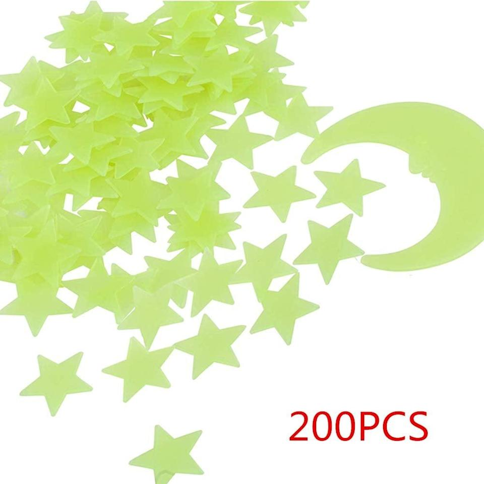 <p>We remember these cool <span>Glow in the Dark Stars</span> ($9, originally $10) from our childhood. We have a feeling they'll love decorating their room with them, too.</p>