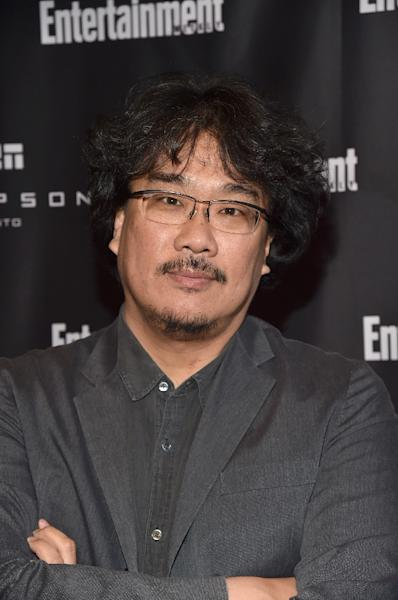 Korean master Bong Joon-ho is another Cannes regular, famous for his dark gripping genre-bending creations (AFP Photo/Alberto E. Rodriguez)