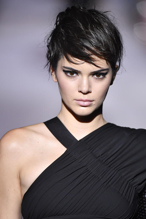 Image of Kendall Jenner with pixie cut