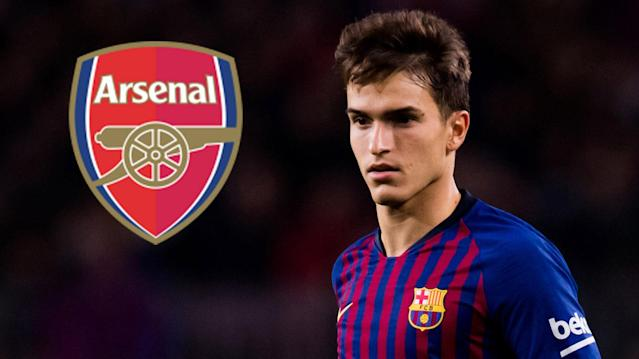 The Spain international midfielder has linked up with the Gunners on an initial agreement which will run through to the end of the 2018-19 campaign