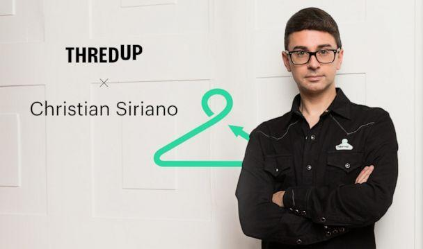 PHOTO: Christian Siriano partners with thredUP to create thrifted New York Fashion Week looks. (thredUP)