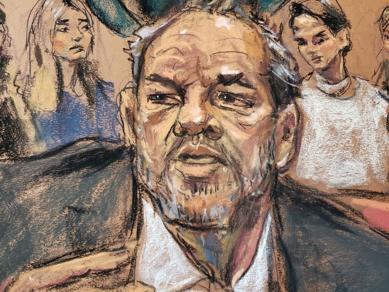 Tears, thanks and surprise over Harvey Weinstein's 23-year sentence
