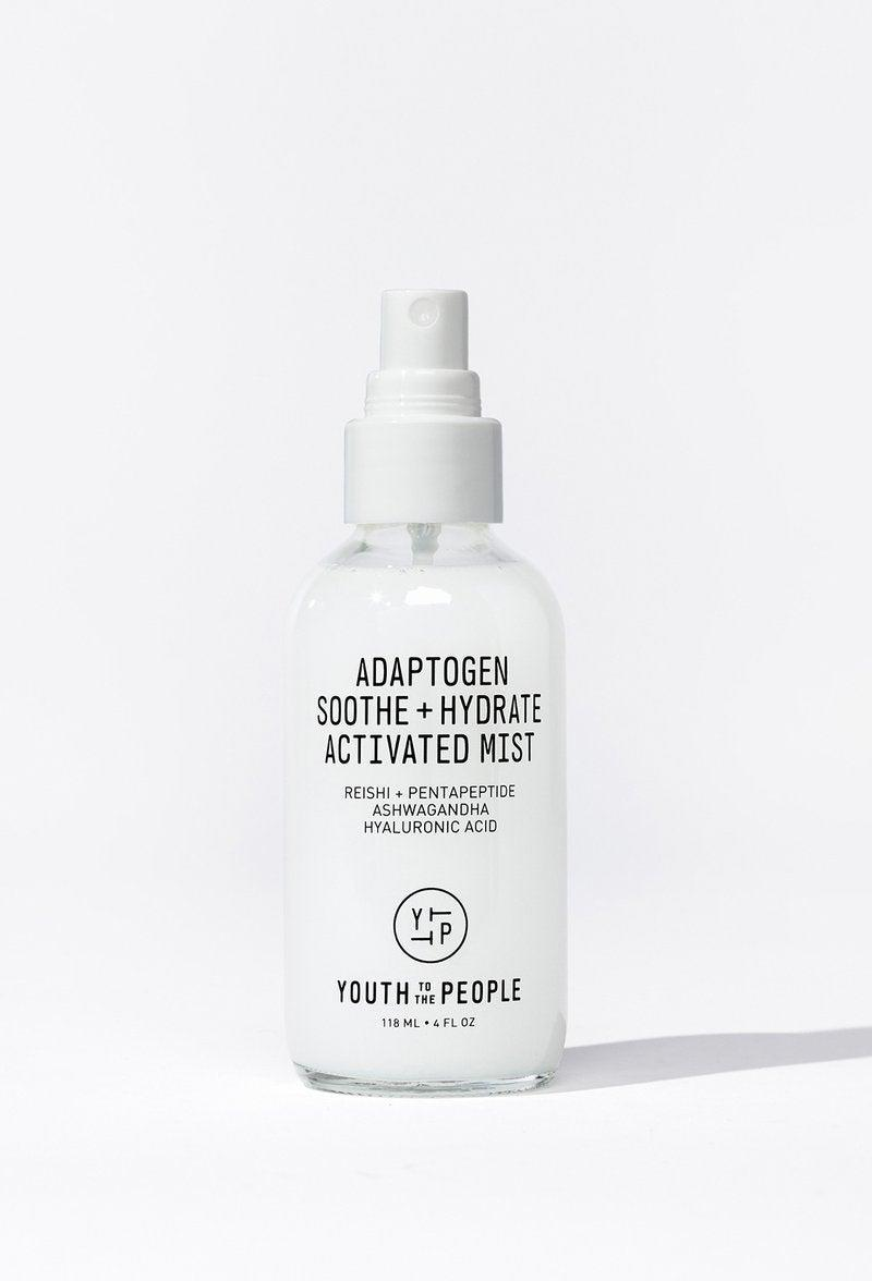"""<h3>Adaptogen Soothe + Hydrate Activated Mist</h3>This is the best smelling product of the line because it has no smell. It was cooling and calmed my irritated skin — the likely result of using a lot of new products over the past few weeks. I took it for a spin in Prospect Park, and my face didn't feel sticky even after a few hours in the sun. Since I don't use witch hazel anymore, this mist is a great addition to my little skin-care product family.<br><br><strong>Youth To The People</strong> Adaptogen Soothe + Hydrate Activated Face Mist Spray, $, available at <a href=""""https://go.skimresources.com/?id=30283X879131&url=https%3A%2F%2Fwww.youthtothepeople.com%2Fproducts%2Fadaptogen-soothe-hydrate-activated-mist"""" rel=""""nofollow noopener"""" target=""""_blank"""" data-ylk=""""slk:Youth To The People"""" class=""""link rapid-noclick-resp"""">Youth To The People</a>"""