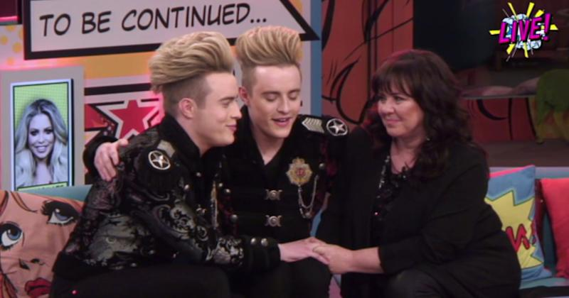 """Jedward's dad is said to be on the """"road to recovery"""" much to the relief of the Irish stars (Copyright: REX/Shutterstock)"""