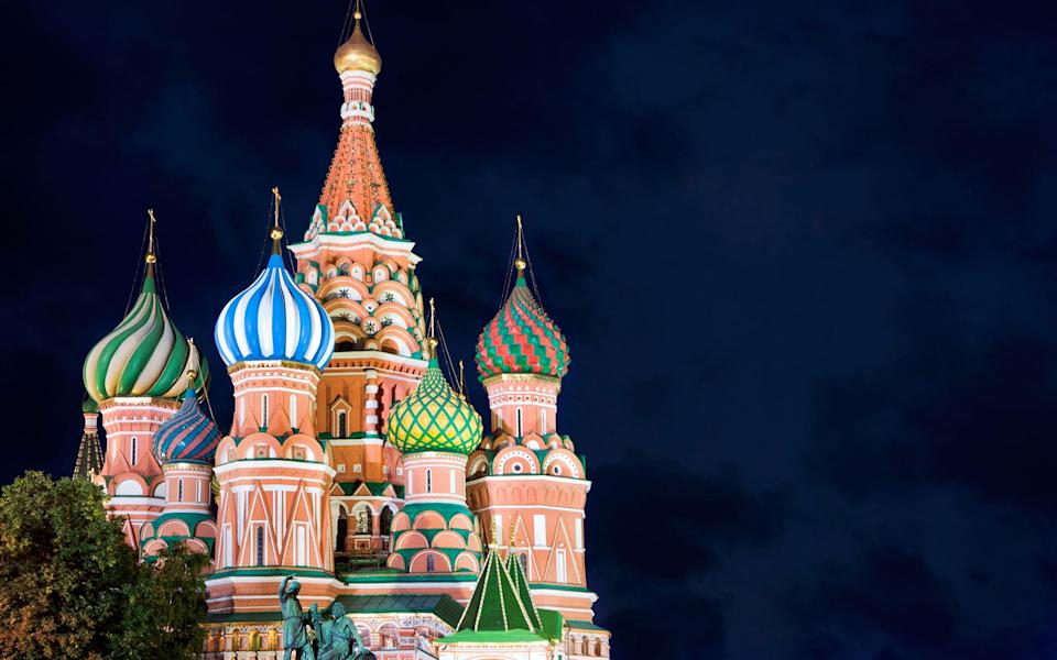 Moscow is Russia's political, scientific, economic and cultural centre - tunart