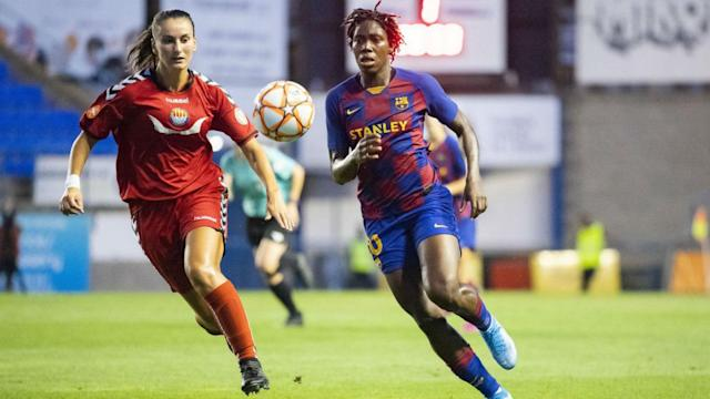 The Nigerian striker is aiming to secure her first trophy with the Liga Iberdrola outfit following a win over the Seagulls