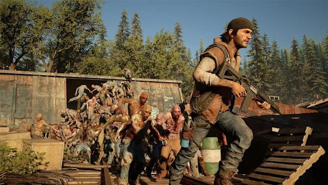 'Days Gone' will have you fleeing seemingly endless hordes of zombies.