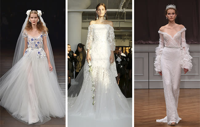 Wedding Dress Trends For Fall 2017 : Bridal trend fall storybook romance