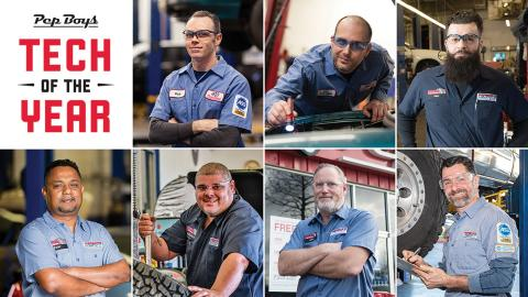 Pep Boys Announces 'Tech of the Year' Winners