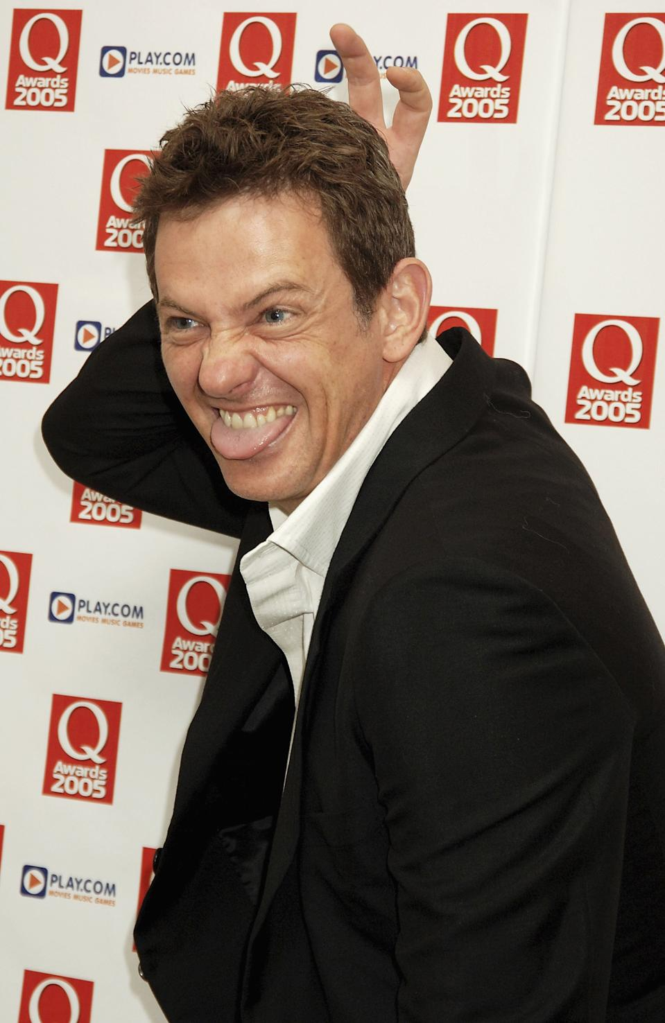 LONDON - OCTOBER 10: (EMBARGOED FOR PUBLICATION IN UK TABLOID NEWSPAPERS UNTIL 48 HOURS AFTER CREATE DATE AND TIME) Matthew Wright arrives at The Q Awards, the annual magazine?s music awards, at Grosvenor House on October 10, 2005 in London, England. (Photo by Dave M. Benett/Getty Images)