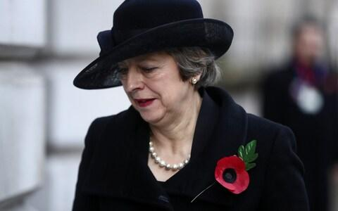 """MrStarkeywas scornful of Theresa May, the former Prime Minister, describing her as being """"like a dose of ice cold water poured over enthusiasm, she is a kind of permanent vacuum - an utter emptiness"""". - Credit: Reuters"""