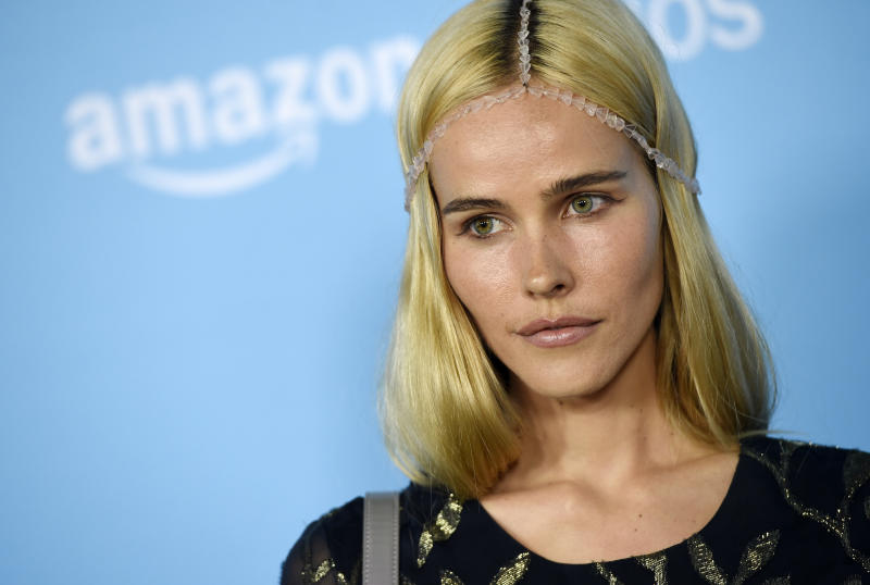 """Actress Isabel Lucas poses at the premiere of the film """"Love & Friendship"""" at the Directors Guild of America on Tuesday, May 3, 2016, in Los Angeles. (Photo by Chris Pizzello/Invision/AP)"""