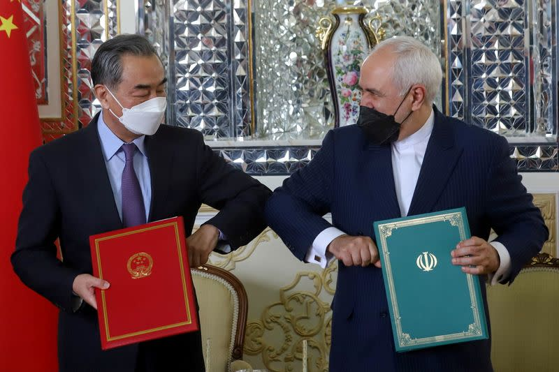 Iran, China sign 25-year cooperation agreement