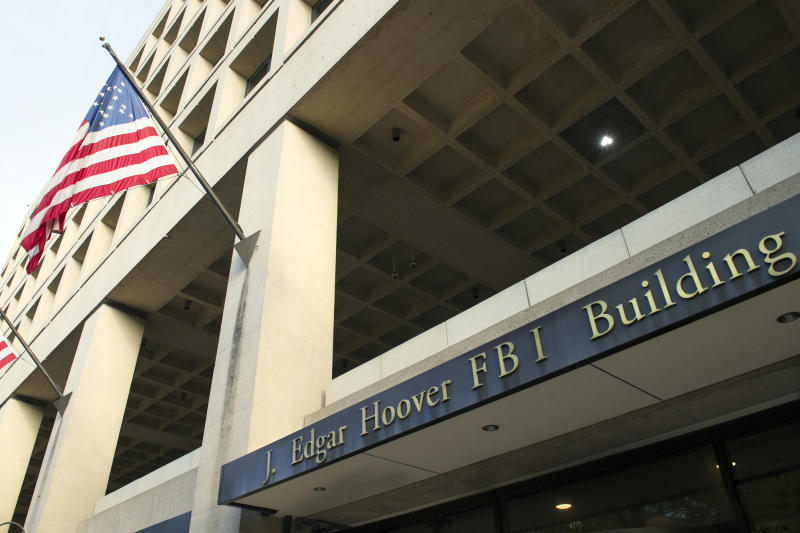 <p> FILE - In this Nov. 2, 2016, file photo, the FBI's J. Edgar Hoover headquarter building in Washington. The FBI has been reviewing the handling of thousands of terror-related tips and leads received over the last three years to make sure they were properly investigated and that no obvious red flags were missed, The Associated Press has learned. (AP Photo/Cliff Owen, File) </p>