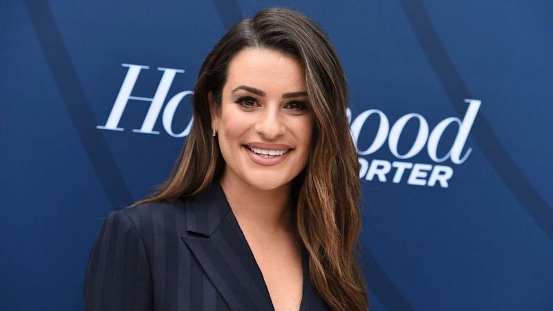 Lea Michele's Bronze Hair Is the End of Summer Inspo I Need
