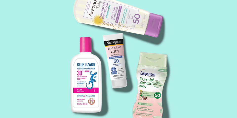"""<p class=""""body-tip""""><em><strong>An important note on sunscreen safety:</strong> <em>The <a href=""""https://www.goodhousekeeping.com/health/a26470685/fda-sunscreen-regulations/"""" rel=""""nofollow noopener"""" target=""""_blank"""" data-ylk=""""slk:FDA is proposing changes to sunscreen regulations"""" class=""""link rapid-noclick-resp"""">FDA is proposing changes to sunscreen regulations</a>, as some active ingredients can enter the bloodstream. Until it can reach a more robust conclusion on safety, <a href=""""https://www.fda.gov/drugs/understanding-over-counter-medicines/sunscreen-how-help-protect-your-skin-sun"""" rel=""""nofollow noopener"""" target=""""_blank"""" data-ylk=""""slk:the FDA"""" class=""""link rapid-noclick-resp"""">the FDA</a> — and the Good Housekeeping Institute Beauty Lab — urges Americans to continue using mineral and chemical sunscreen to protect against UV damage.</em></em></p><p>Finding the <a href=""""https://www.goodhousekeeping.com/beauty/anti-aging/g1288/best-sunscreens/"""" rel=""""nofollow noopener"""" target=""""_blank"""" data-ylk=""""slk:best sunscreen"""" class=""""link rapid-noclick-resp"""">best sunscreen</a> for kids and babies can be tricky, because everyone has different concerns and preferences. (<a href=""""https://www.goodhousekeeping.com/beauty-products/g26310913/best-sunscreen-for-sensitive-skin/"""" rel=""""nofollow noopener"""" target=""""_blank"""" data-ylk=""""slk:Sensitive skin"""" class=""""link rapid-noclick-resp"""">Sensitive skin</a>? <a href=""""https://www.goodhousekeeping.com/beauty/anti-aging/tips/g256/natural-sunscreens-460608/"""" rel=""""nofollow noopener"""" target=""""_blank"""" data-ylk=""""slk:Natural formulas"""" class=""""link rapid-noclick-resp"""">Natural formulas</a>? Check and check.) Since there are so many options available on the market, it can be hard to know which ones are actually safe for children. </p><p class=""""body-text"""">While the <a href=""""https://www.goodhousekeeping.com/institute/about-the-institute/a19748212/good-housekeeping-institute-product-reviews/"""" rel=""""nofollow noopener"""" target=""""_blank"""" data-ylk=""""slk:Good Housekeeping Insti"""