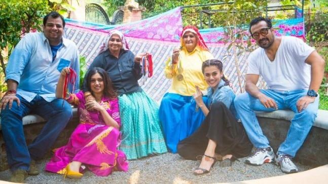 Taapsee Pannu and Bhumi Pednekar will come together on screen for the first time in writer Tushar Hiranandani's directorial debut Saand Ki Aankh.