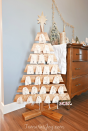 """<p>Celebrate Christmas every day of the month with this stunning advent calendar.</p><p><strong>Get the tutorial at <a href=""""http://tamarasjoy.com/diy-advent-calendar-tree/"""" rel=""""nofollow noopener"""" target=""""_blank"""" data-ylk=""""slk:Tamara's Joy"""" class=""""link rapid-noclick-resp"""">Tamara's Joy</a>.</strong></p><p><strong><a class=""""link rapid-noclick-resp"""" href=""""https://www.amazon.com/Reusable-Biodegradable-Eco-Friendly-Vegetable-Leafico/dp/B01N592S6B/?tag=syn-yahoo-20&ascsubtag=%5Bartid%7C10050.g.23322271%5Bsrc%7Cyahoo-us"""" rel=""""nofollow noopener"""" target=""""_blank"""" data-ylk=""""slk:SHOP LINEN BAGS"""">SHOP LINEN BAGS</a><br></strong></p>"""