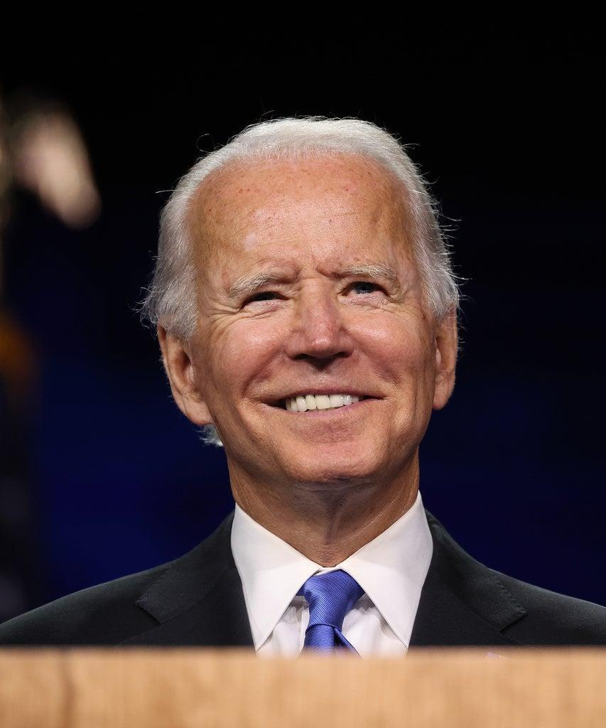 WILMINGTON, DELAWARE – AUGUST 20: Democratic presidential nominee Joe Biden delivers his acceptance speech on the fourth night of the Democratic National Convention from the Chase Center on August 20, 2020 in Wilmington, Delaware. The convention, which was once expected to draw 50,000 people to Milwaukee, Wisconsin, is now taking place virtually due to the coronavirus pandemic. (Photo by Win McNamee/Getty Images)