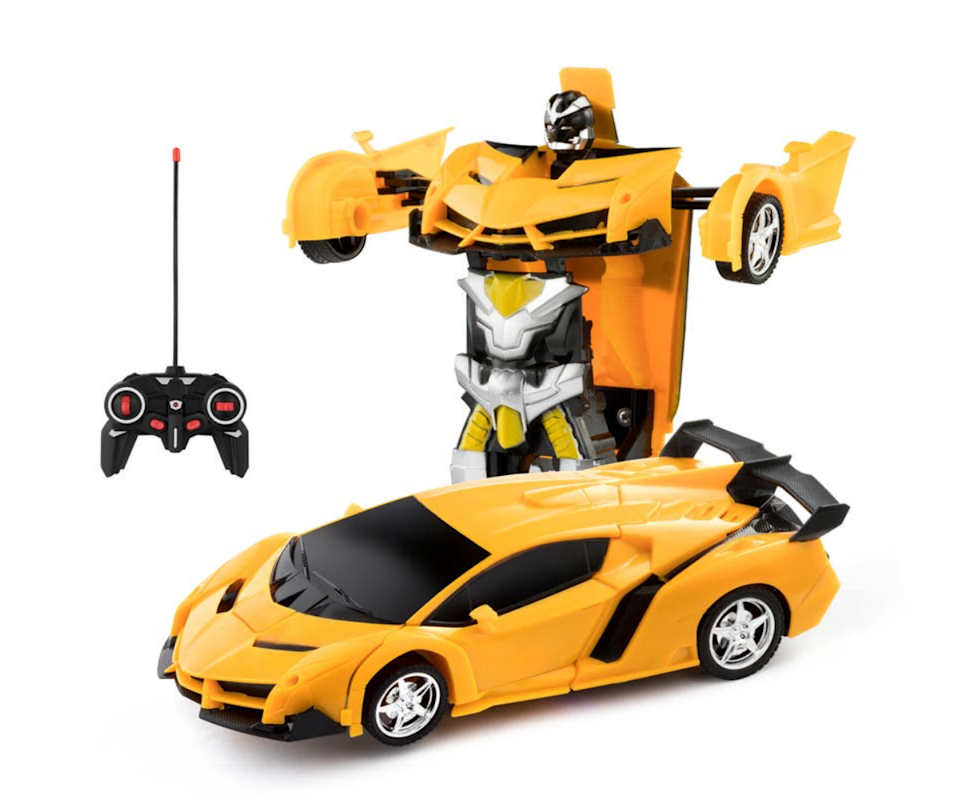 For the little rev-head in the family. This remote-controlled transforming car will be sure to blow them away! Source: Kogan