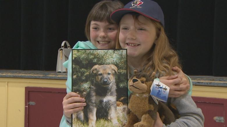 Naming new RCMP puppy 'really cool' for Conception Bay South girl