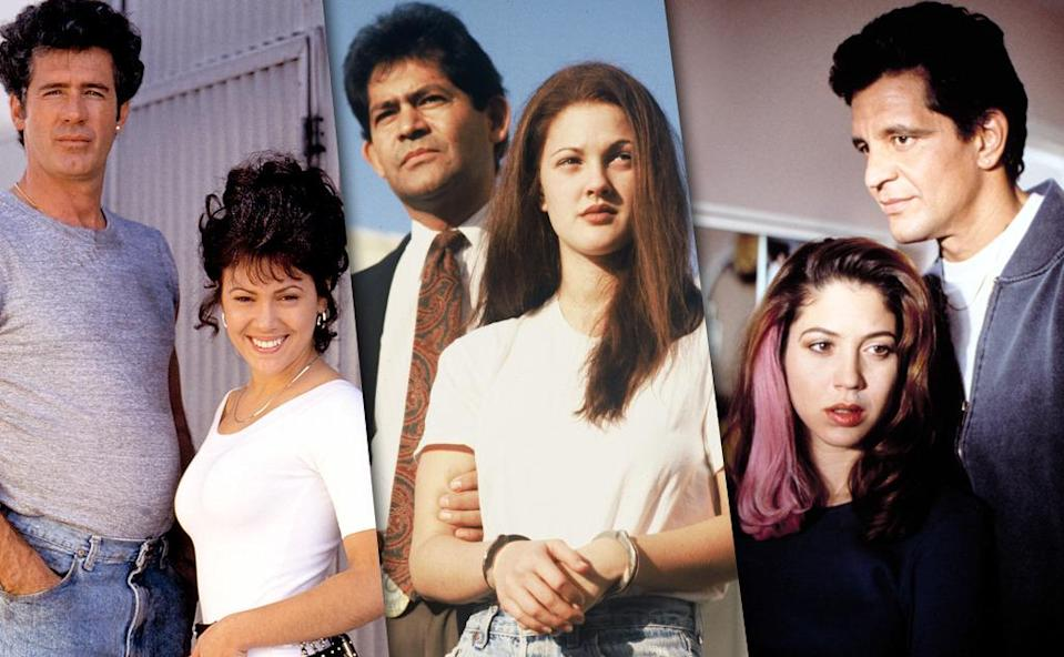 <p><b>Aired:</b> January 3, 1993 on CBS<br><b>Stars:</b> Alyssa Milano as Amy, Jack Scalia as Joey Buttafuoco, Jeff Perry as Amy's lawyer<br><br><b>'The Amy Fisher Story'</b> <br><b>Aired:</b> January 3, 1993 on ABC<br><b>Stars:</b> Drew Barrymore as Amy, Tony Denison as Joey <br><br><b>'Amy Fisher: My Story </b><br><b>Aired:</b> December 28, 1992 on NBC<br><b>Stars:</b> Noelle Parker as Amy, Ed Marinaro as Joey<br><br><b>Ripped from the headlines about:</b> Seventeen-year-old Long Island high schooler Amy Fisher, who, in 1992, was convicted of trying to murder Long Island housewife Mary Jo Buttafuoco, whose husband, mechanic Joey, had sex with Fisher. Fisher spent seven years in jail for the crime. As for who was the better small-screen Amy, all three Amys have their charms (or lack thereof), but Milano's is particularly fun in the version of the story that is supposed to represent Buttafuoco's side of the sordid tale. As for Joey, hands down, Scalia is the best, because even in a version that should theoretically paint him in a sympathetic light, he still comes off as a total creep. <br><br><i>(Credit: Everett Collection; Getty Images)</i> </p>