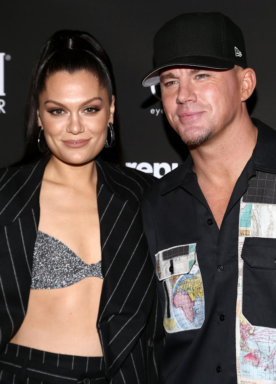 Jessie J and Channing Tatum pictured in January (Photo: Tommaso Boddi via Getty Images)