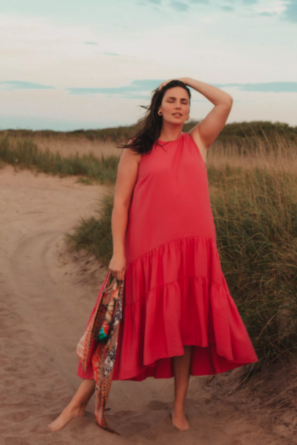 "<br> <br> <strong>Maeve</strong> Marlene Tiered Maxi Dress, $, available at <a href=""https://go.skimresources.com/?id=30283X879131&url=https%3A%2F%2Fwww.anthropologie.com%2Fshop%2Fmarlene-tiered-maxi-dress%3Fcolor%3D066%26type%3DPLUS%26quantity%3D1"" rel=""nofollow noopener"" target=""_blank"" data-ylk=""slk:Anthropologie"" class=""link rapid-noclick-resp"">Anthropologie</a>"