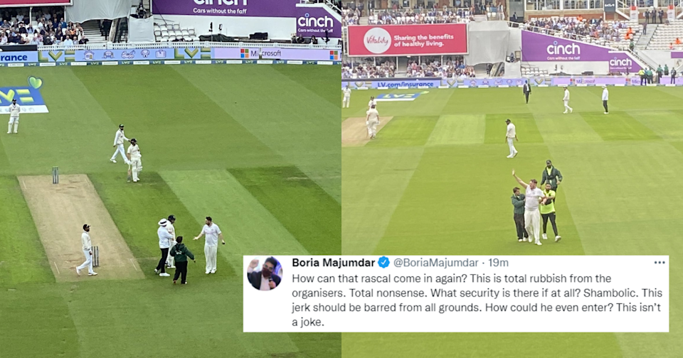 Twitter Lashes Out At Jarvo69 For Entering The Field Again At The Oval