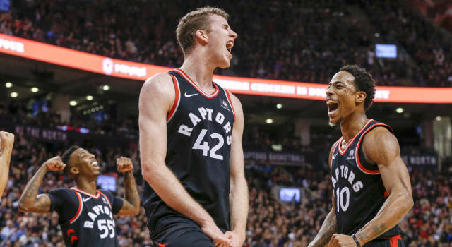 The Toronto Raptors tied the franchise record for consecutive wins, let's not overlook that.