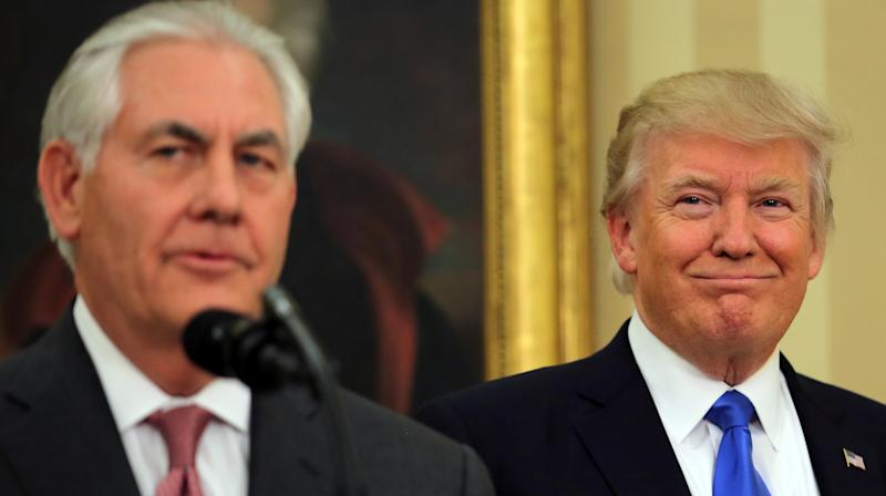 Trump On Rex Tillerson Reportedly Calling Him 'A Moron': I'd Beat Him In An IQ Test