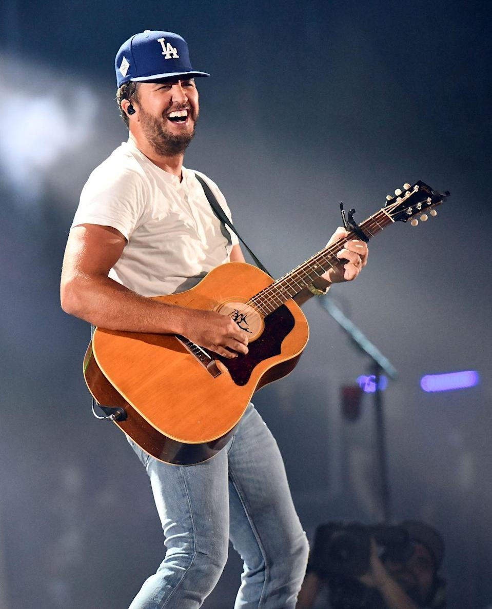 """<p>Country star Luke Bryan is known for producing college anthems and getting the crowd the raise their solo cups to the sky—and the singer knows a thing or two about frat life, too. He was a <a href=""""https://www.billboard.com/articles/columns/country/6641055/luke-bryan-kill-the-lights-album-confederate-flag-family-touring"""" rel=""""nofollow noopener"""" target=""""_blank"""" data-ylk=""""slk:member of Sigma Chi"""" class=""""link rapid-noclick-resp"""">member of Sigma Chi</a> during his years at Georgia Southern University. </p>"""