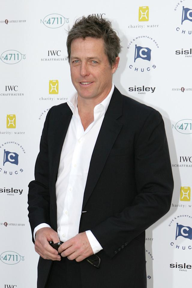 """Hugh Grant turns 51. Darren Gerrish/<a href=""""http://www.gettyimages.com/"""" target=""""new"""">GettyImages.com</a> - July 4, 2011"""