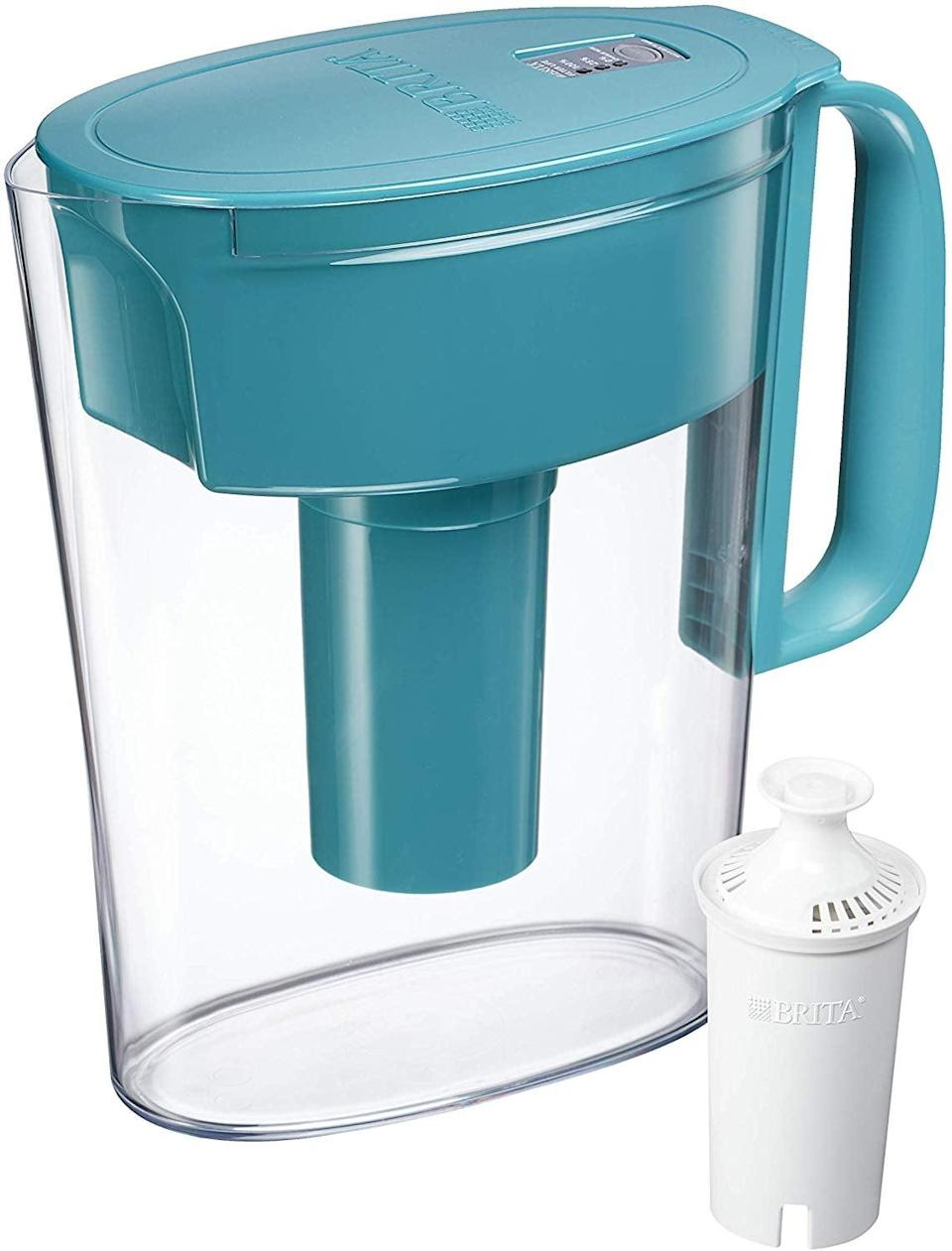 <p>If they don't like the taste of tap water, pick them up the <span>Brita 36172 Metro Pitcher</span> ($17) for a crisp taste. </p>