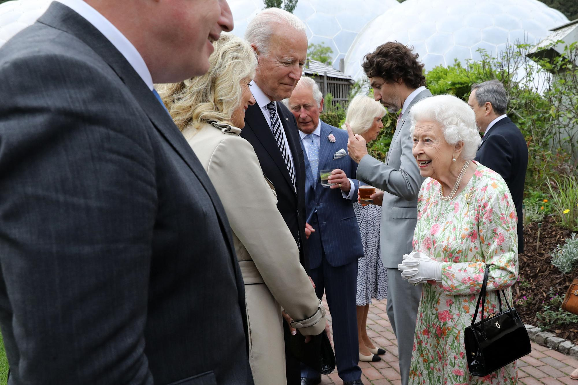 Joe Biden may have already breached royal protocol with the Queen