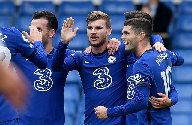 Chelsea's Timo Werner scored twice but could not seal victory