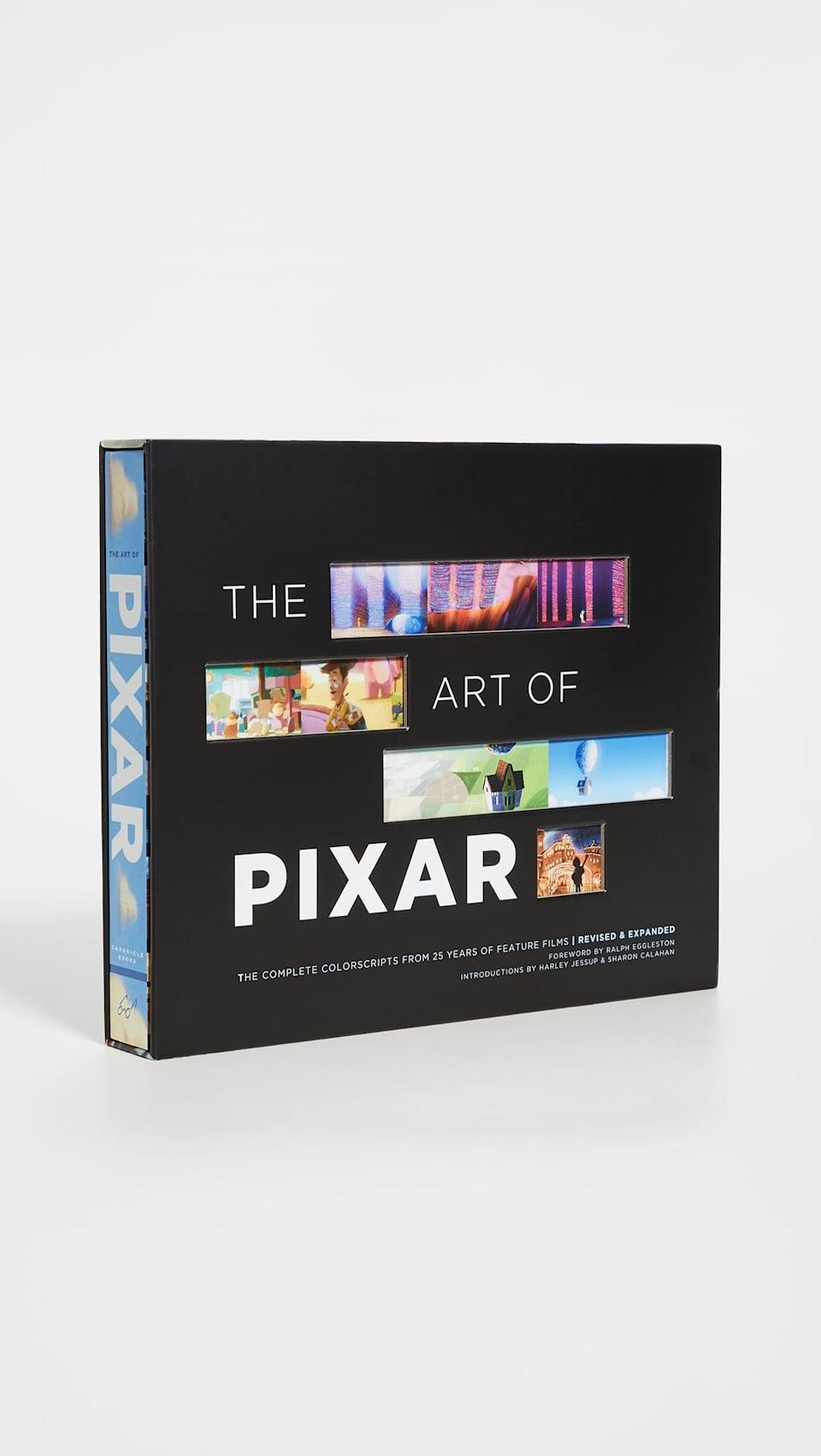 <p>Any Pixar lover will be obsessed with this <span>Books with Style The Art of Pixar</span> ($42, originally $60).</p>