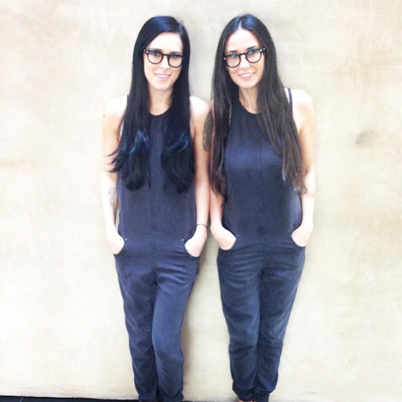 """<p>""""That moment when you realize you actually are becoming your mother #twinning #imnotmad,"""" Rumer captioned this photo posted to her Instagram page. Twinning, indeed!</p>"""