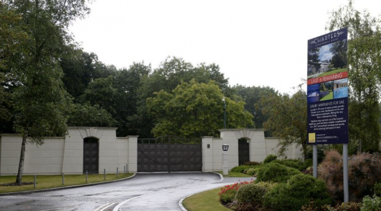 The Charters Estate in Sunningdale, Berkshire, where Sir Cliff Richard has an apartment. Credit: PA